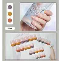 Bộ 24 móng tay giả nail thơi trang như hình (R-058)