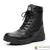Giày bốt chiến thuật phong cách quân đội cho nam