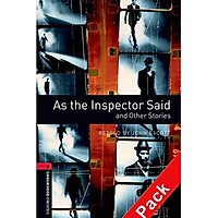 Oxford Bookworms Library (3 Ed.) 3: As the Inspector Said and Other Stories Audio CD Pack