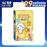 Bánh Xốp Spoonz Snack Ice Cone Vị Chuối 27 g