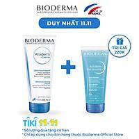 Kem Dưỡng Ẩm Cho Da Thường Và Da Khô Nhạy Cảm Bioderma Atoderm Crème - 200ml