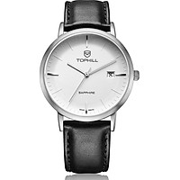 Đồng hồ nam dây da chính hãng Thụy Sĩ TOPHILL TS001M.PB1252