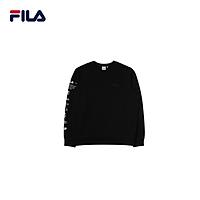 Áo hoodie tay dài không nón unisex Fila Archive Sleeve Point - New Beginning Collection - FS2POD1108X