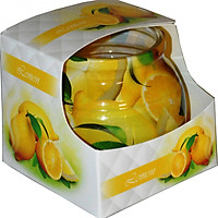 Ly nến thơm Admit ADM0541 Lemon 80g (Hương chanh tươi)