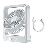 Quạt mini để bàn Baseus Cube Shaking Fan - Hàng chính hãng