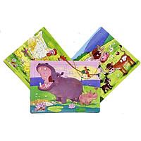 Combo 3 tranh xếp hình A4, 30 mảnh ghép (Nhiều mẫu). Tia Sáng Việt Nam. Đồ chơi trí tuệ cho bé từ 3 tuổi.