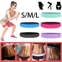 Fitness Hip Loop Resistance Bands Anti-slip Squats Expander Strength Rubber Band -- 【S / M / L / one set】Black /Blue/ Purple/ Red/ Green
