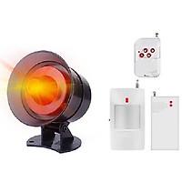 Bộ thiết bị chống trộm cửa mở cảm biến hồng ngoại chuyển động thông minh MR-300 (Tặng đèn 4 led dán tủ, dán tường siêu sáng)