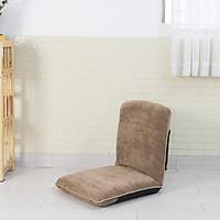 Medi 360 Nâu - Ghế ngồi thiền ,ghế bệt tatami, ghế bệt tựa lưng không chân tùy chỉnh 6 góc và xếp gọn