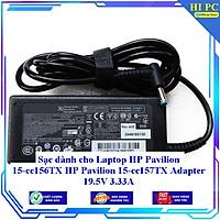Sạc dành cho Laptop HP Pavilion 15-cc156TX HP Pavilion 15-cc157TX Adapter 19.5V 3.33A - Hàng Nhập khẩu