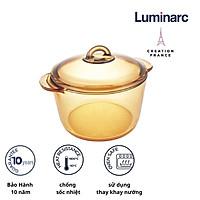 Nồi thủy tinh 3L Luminarc Amberline Granite (Bảo hành 10 năm)