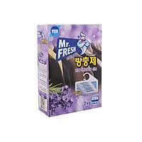 Hộp 2 gói Long não thơm phòng đuổi côn trùng Mr Fresh Hàn Quốc (2 gói x 55g)