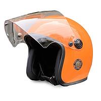 Mũ Bảo Hiểm 3/4 Đầu Napoli N099 Có Kính Nhiều Màu Cá Tính - Free size ( 55-58 cm )