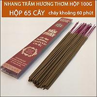 Nhang Trầm Hương thơm Quảng Nam( Hộp 65 cây, 130, 260, 325, 1300 cây )