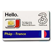 Sim Du lịch Pháp - France 4G tốc độ cao