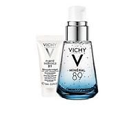 Dưỡng Chất Khoáng Cô Đặc Giúp Phục Hồi Và Bảo Vệ Da Vichy Minéral 89 (30ml) Tặng Sữa Rửa Mặt  tẩy trang 3 tác dụng Vichy 15ml