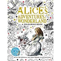 Sách tô màu The Macmillan Alice Colouring Book