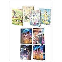 Combo Boxset 4 Cuốn: Ở Một Góc Nhân Gian (3 Tập) + Phố Chiều Lặng Gió Mênh Mang Anh Đào Và Boxset Your Name (3 Tập) (Truyện Tranh Manga)