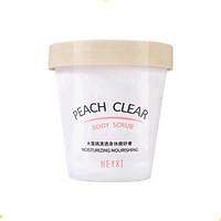 Tẩy da chết heyxi hương đào làm mịn trắng da peach body scrub 200g