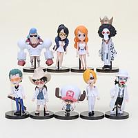 Bộ 09 Mô Hình Nhân Vật One Piece Chibi ( Mẫu 04 )