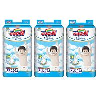 3 Gói Tã Dán Goo.n Premium Gói Cực Đại XL46 (46 Miếng)