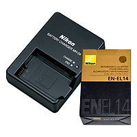 Combo 01 Pin Nikon EN-EL14 + 01 Sạc Nikon MH-24 - Hàng Nhập Khẩu