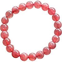 Thạch Anh Ưu Linh Dâu Đỏ Myanmar 9mm Ngọc Quý Gemstones VT131