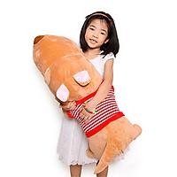 Gấu bông chó puco nằm lớn 1m