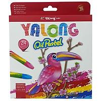 Sáp Dầu 24 Màu Yalong 95086-24 (Mẫu Bao Bì Giao Ngẫu Nhiên)
