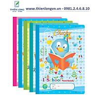 Lốc 5 quyển vở 4 ô ly Chicky - 48 trang; Klong 015