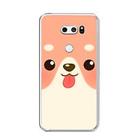 Ốp lưng dẻo cho điện thoại LG V30 - 0007 DOG10 - Hàng Chính Hãng