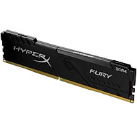 Ram PC Kingston HyperX Fury Black 16GB (1x16GB) Bus 2666 DDR4 CL16 DIMM XMP Non-ECC HX426C16FB4/16 - Hàng Chính Hãng