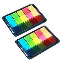Combo 2 Giấy Note 5 màu ghi chú Tiện lợi