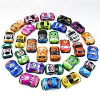 Bộ 40 mô hình xe ô tô mini bánh đà làm đồ chơi cho bé 3 tuổi
