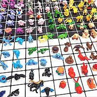 Bộ 144 Mô Hình Nhân Vật Pokemon Trang Trí