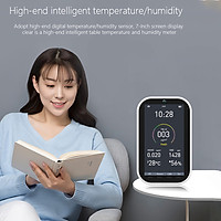 7 Inch Color Screen Carbon Dioxide CO2 Detector Professional Household PM2.5 Formaldehyde Analyzer Air Quality Monitor