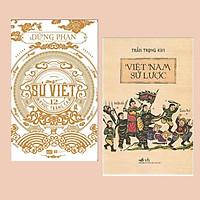 Combo Sách Lịch Sử: Việt Nam Sử Lược (Tái Bản 2018) + Sử Việt – 12 Khúc Tráng Ca (Tái Bản)