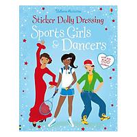 Usborne Sticker Dolly Dressing : Sports Girls and Dancers (bind up)
