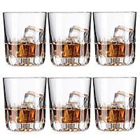 Bộ ly 6 cái Union Glass 385 Ly lùn 280 ml  không ngã màu,  sản xuất Thái Lan