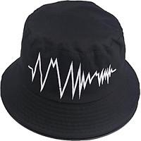 Mũ bucket tai bèo nam nữ thêu hình nhịp tim độc đáo