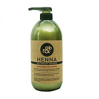 Dầu gội thảo dược giảm rụng tóc dưỡng tóc bóng khỏe phục hồi tóc kích thích mọc tóc nhanh R&B Henna Spa Shampoo, HQ 1000ml
