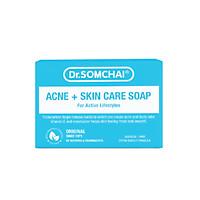 Xà bông tắm giúp làm sạch bụi bẩn, dầu nhờn và dưỡng ẩm giúp da mềm mại, mịn màng DR.SOMCHAI ACNE SKIN CARE SOAP FOR ACTIVE LIFESTYLES 80g