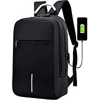 Balo đựng laptop công nghệ sơn phản quang, có khóa chống trộm.