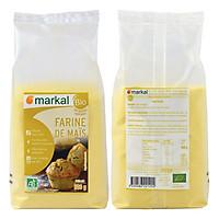 Bột ngô (bắp) hữu cơ xay mịn 500g - Markal