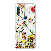 Ốp lưng điện thoại VSMART ACTIVE 3 - Silicon dẻo - 0065 FLOWER11 - Hàng Chính Hãng