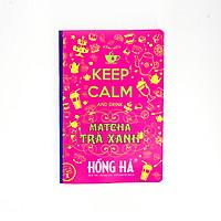 Vở kẻ ngang 200 trang Keep Calm & Matcha Trà Xanh 1400 (5 quyển)