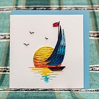 Thiệp Giấy Xoắn Biển - CNS1517