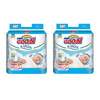 2 Gói Tã Dán Goo.n Premium Gói Cực Đại Newborn NB70 (70 Miếng)