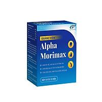 Alpha Moriamax hỗ trợ giảm viêm họng, viêm cơ mềm, viêm khớp