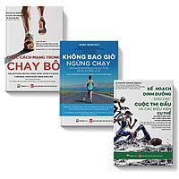 Bộ sách 3 cuốn: Cuộc cách mạng trong chạy bộ, Không bao giờ ngừng chạy, Kế hoạch dinh dưỡng cho các cuộc thi đấu